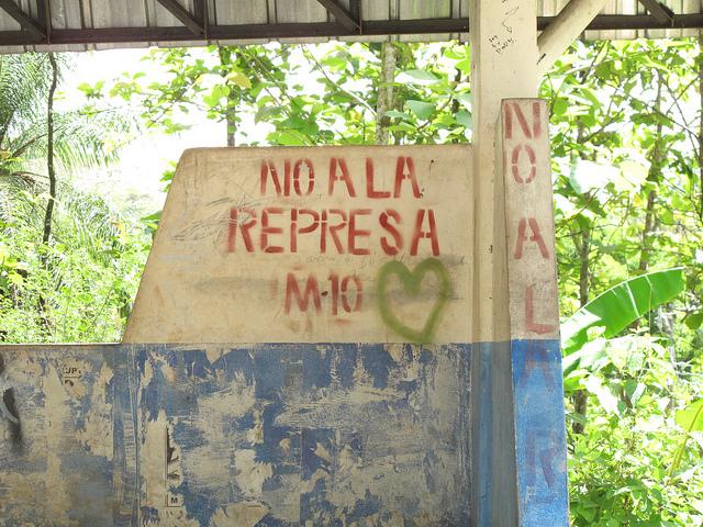 No to the Dam