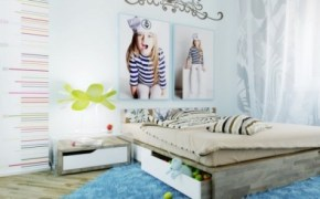 Interior Design Ideas for Girls' Bedroom