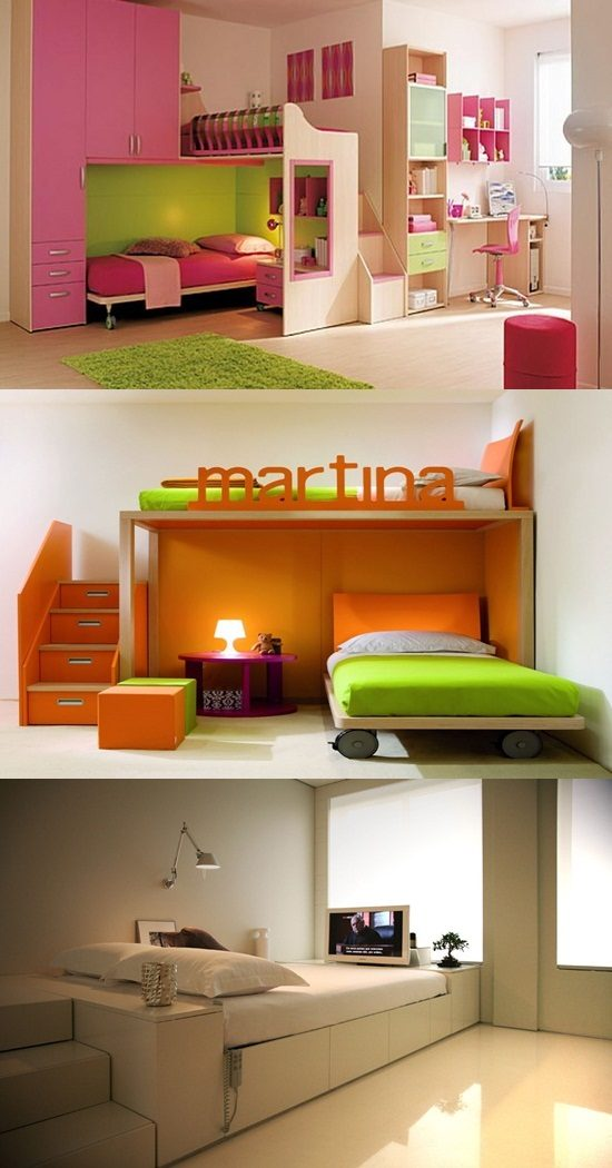 Small Space bedroom interior design ideas