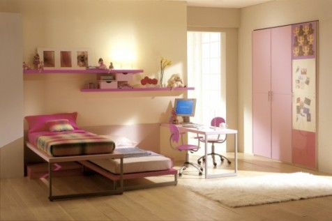 pink and brown nursery and bedroom decorating ideas interior design