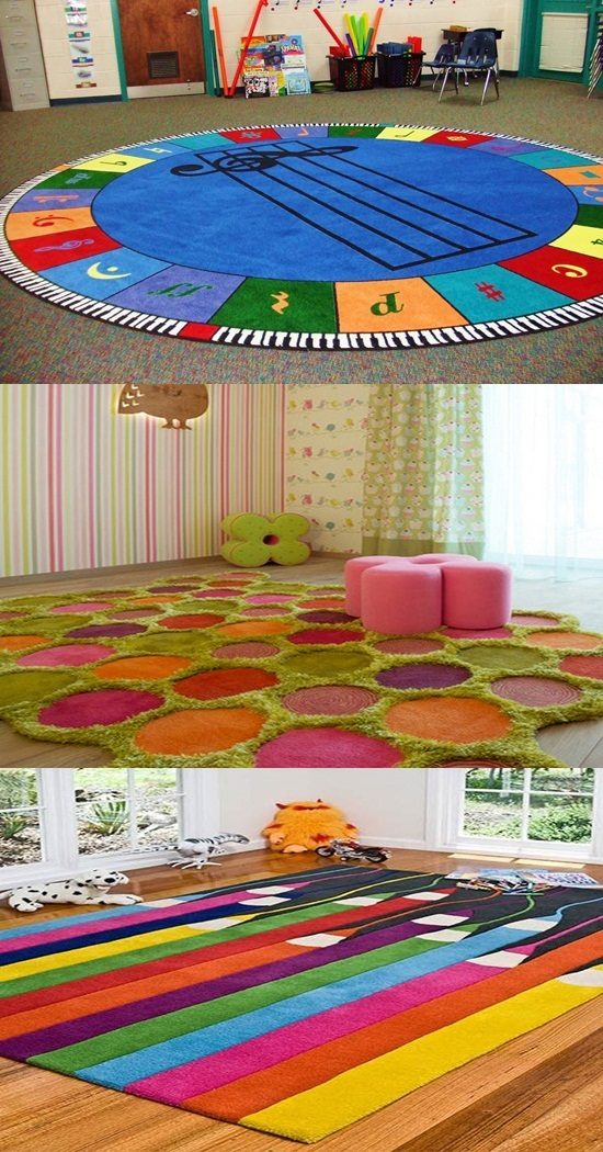 Modern Classroom Rug : Educational rugs for kids room interior design