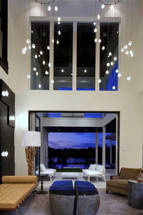 Best living room lighting ideas interior design for Contemporary living room lighting ideas