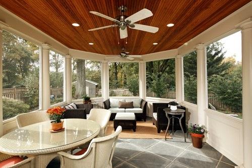 Best sunroom design, colors ideas