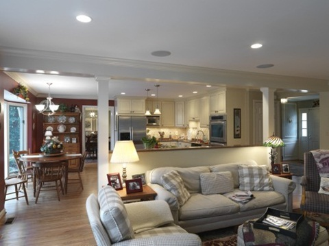Perfect ways to decorate a living room with a dining area for Ways to decorate living room