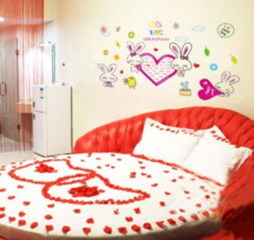 romantic ideas to decorate your bedroom for valentine s day interior design. Black Bedroom Furniture Sets. Home Design Ideas