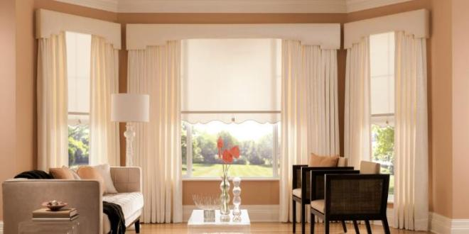 Curtains with technology add warm and beautiful