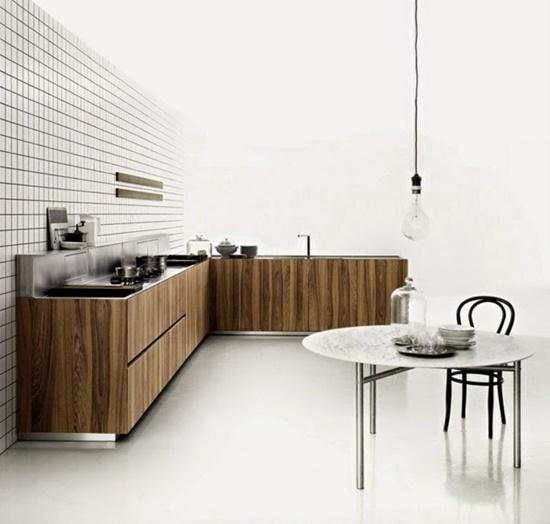 Modern European Kitchen Designs: Stylish European Kitchen Design With Sleek And Clean Look