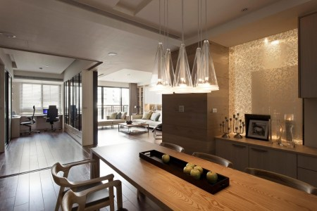 nice apartment with kitchen living and office