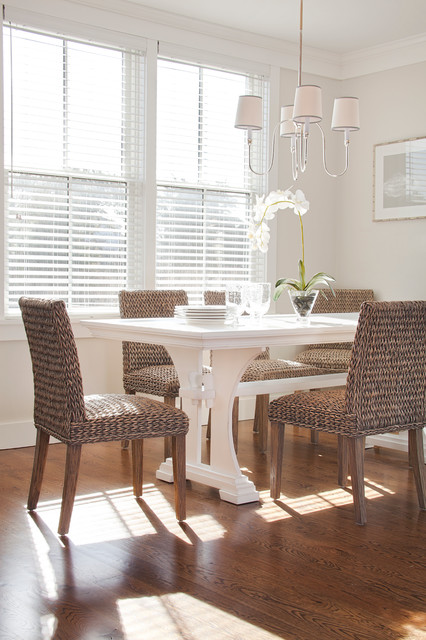 Rattan Chairs In Dining Room Design Ideas 2016 12