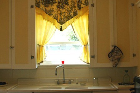 french country kitchen curtain ideas 4