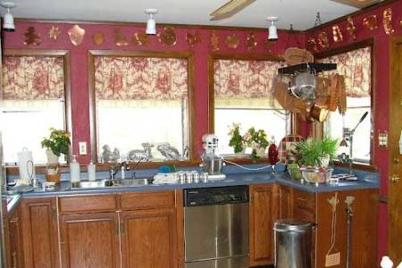 french country kitchen curtain ideas 5
