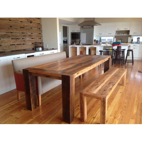 Medium Crop Of Reclaimed Wood Dining Table