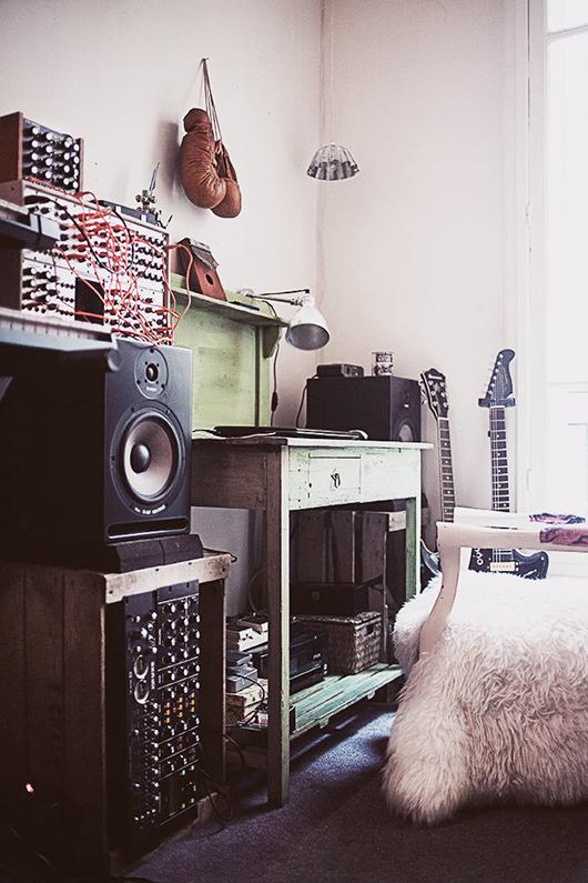Espacio de trabajo musical