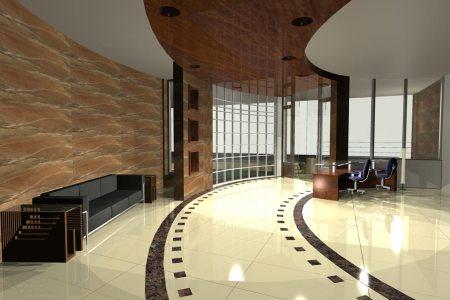 residential interior design lobby 08