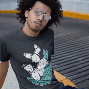 Cactus Geode Turquoise T-Shirt