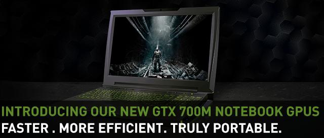 GeForce GTX 700M GPUs