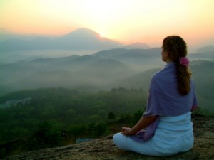 12. Sun rising meditation