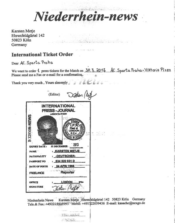Fake Press ID