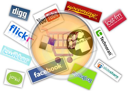 empresarios  prometidos con las redes sociales