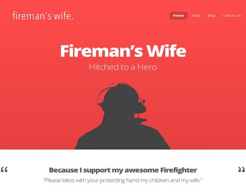 Fireman's Wife