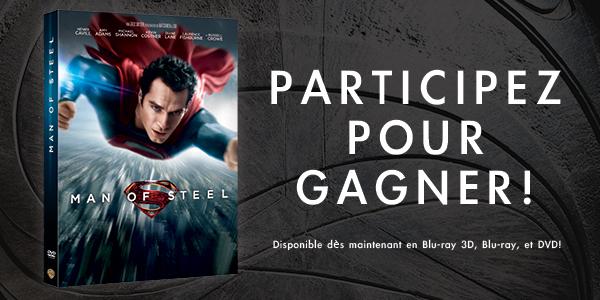 CONCOURS : gagnez un blu-ray de Man of Steel de Zack Snyder