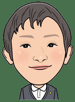 行政書士の喜多様の似顔絵