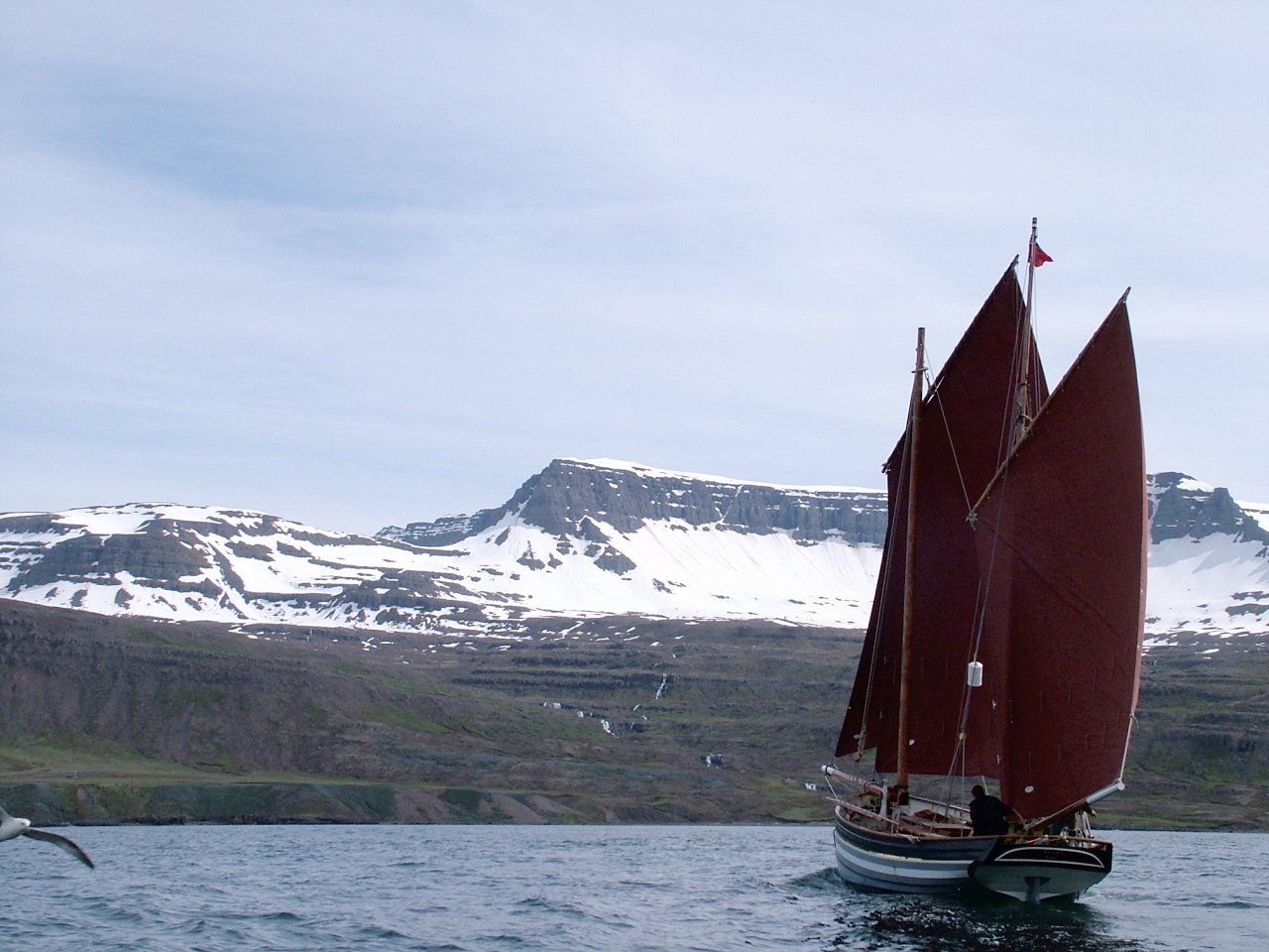 18th century-style lugger Alert back from Iceland – and for sale | intheboatshed.net