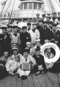 Dan Worralll article Concertinas at sea