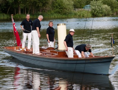 Pierette at the Beale Park Boat Show 2011