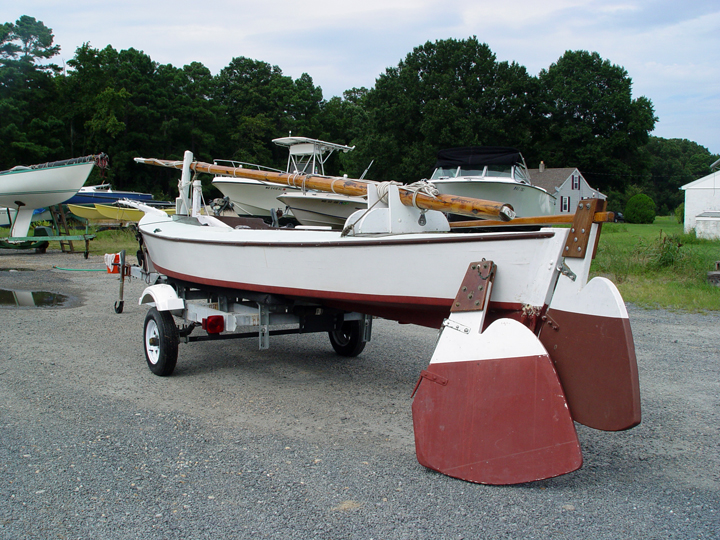 Sharpies and a skiff up for auction at the Chesapeake Bay Maritime Museum | intheboatshed.net