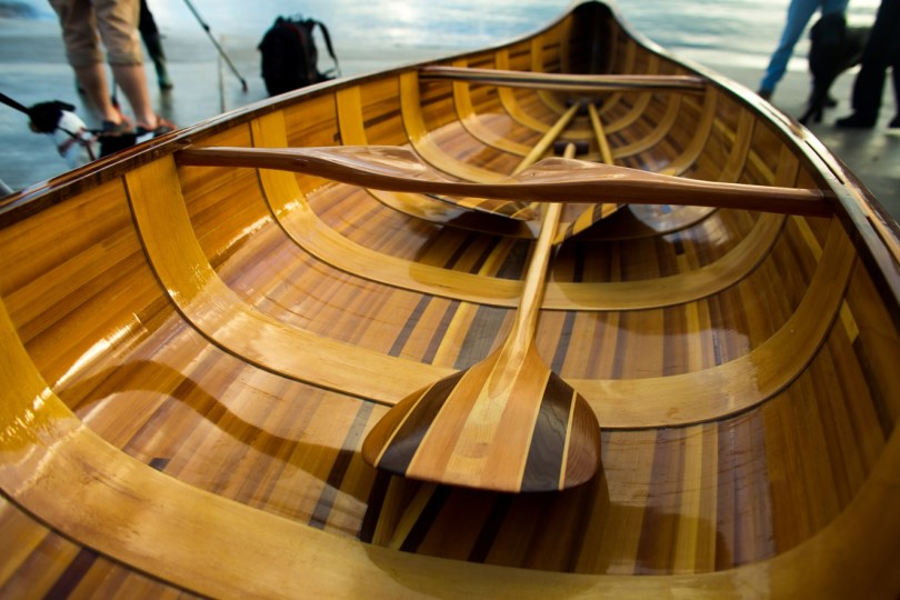 Hiawatha 15′ Cedar Strip Planked Canoe ©Jenny Steer Photography Dec ...
