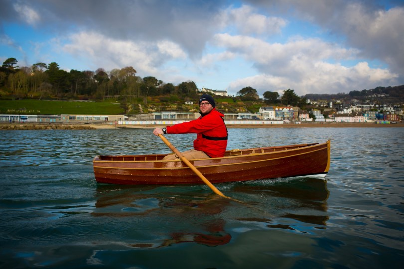 10' traditional clinker rowing boat ©Jenny Steer Photography Dec 2013 ...