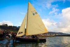 Herreshoff Biscayne Bay sailing skiff ©Jenny Steer Photography Dec 2013 (135)