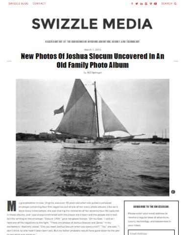 Joshua Slocum photos