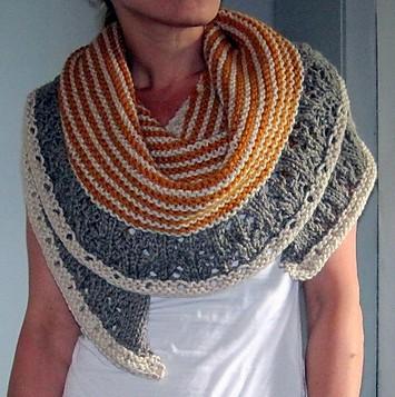 Free knitting pattern for Muh Muhs Shawl