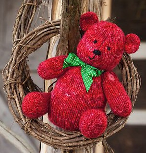 Knitted Bear Patterns For Free : Teddy Bear Knitting Patterns In the Loop Knitting