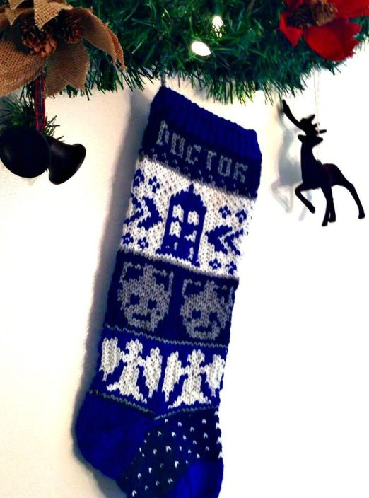 Knitting Pattern For Tardis Socks : Doctor Who Knitting Patterns In the Loop Knitting