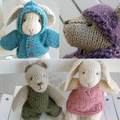 Free Knit Bunny Pattern : Bunny Rabbit Knitting Patterns In the Loop Knitting