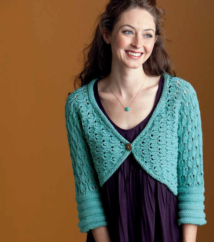 Shrug Patterns To Knit : Shrug and Bolero Knitting Patterns In the Loop Knitting
