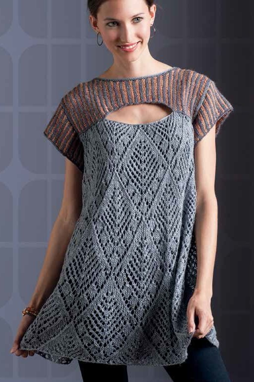 Tuscany Lace Tunic Knitting pattern
