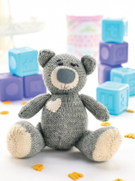 Teddy Bear Knitting Patterns Free Download : Teddy Bear Knitting Patterns In the Loop Knitting
