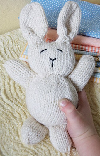 Knitting Patterns Rabbit Soft Toy : Bunny rabbit knitting patterns in the loop