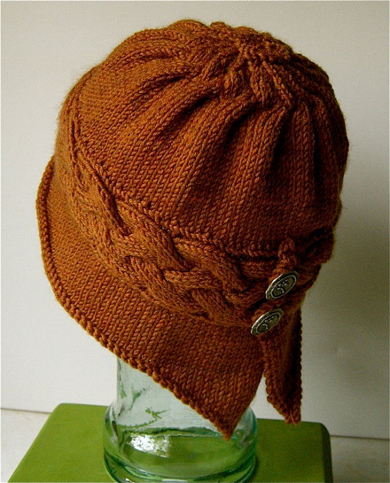 Free Knitting Pattern For Cloche Hat : Cloche Hat Free Knitting Patterns In the Loop Knitting