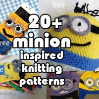 Minion Inspired Knitting Patterns