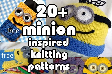 Knitting Pattern For Minion Free : Movie/TV Patterns In the Loop Knitting