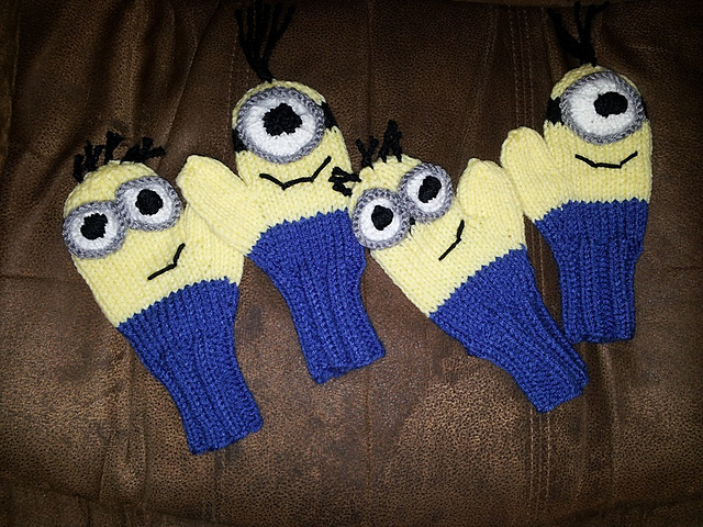 Knitting Patterns Minions : Minion Inspired Knitting Patterns In the Loop Knitting