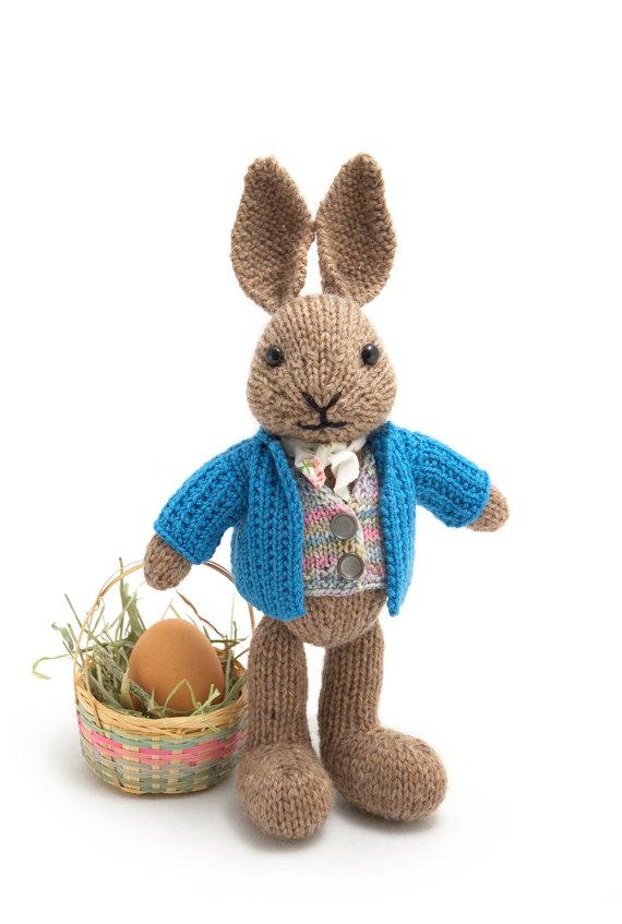 Bunny Rabbit Knitting Pattern : Bunny Rabbit Knitting Patterns In the Loop Knitting