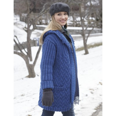 Knitting Patterns For Coats : Jacket and Coat Knitting Patterns In the Loop Knitting