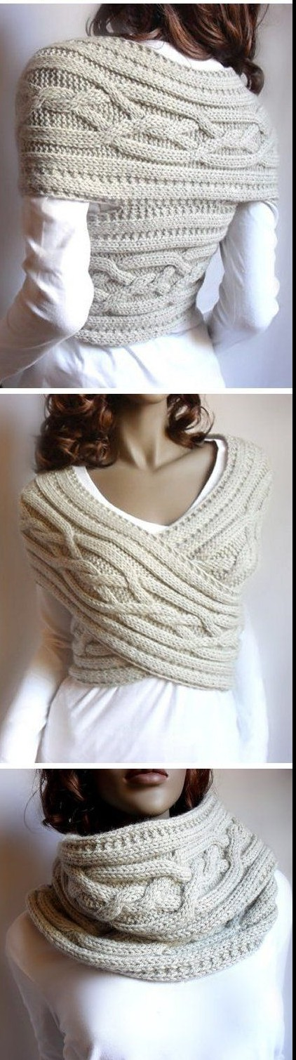 One Piece Fold and Seam Knitting Patterns In the Loop Knitting