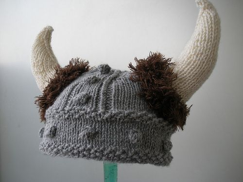 Free Pattern Crochet Viking Hat : Fun Hats Knitting Patterns In the Loop Knitting